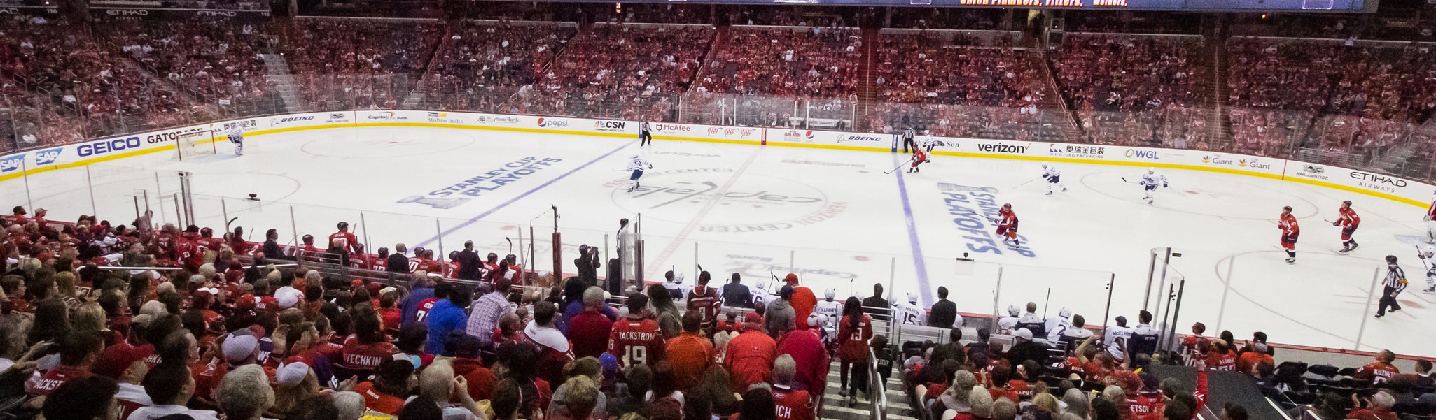 Seat view from LL Center Preferred 100 at Capital One Arena