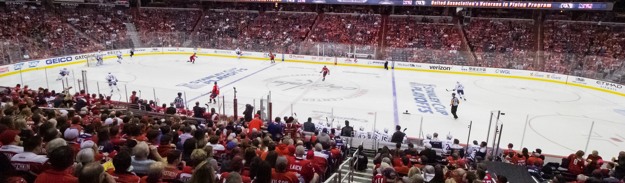 Seat view from LL Center Preferred 101 at Capital One Arena