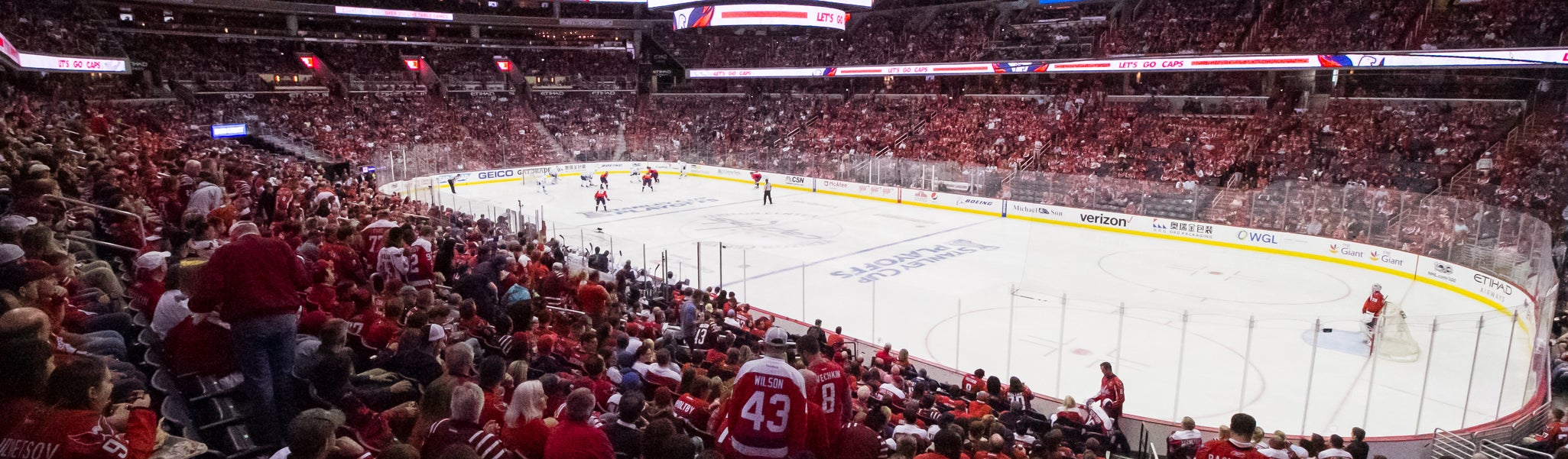 Seat view from LL Center Preferred 102 at Capital One Arena