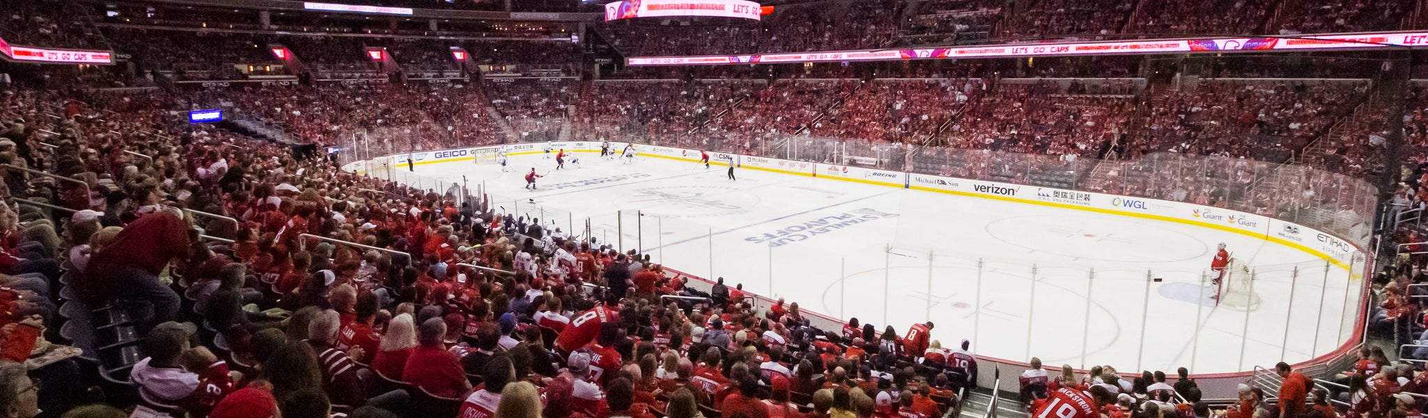 Seat view from LL Preferred 103 at Capital One Arena