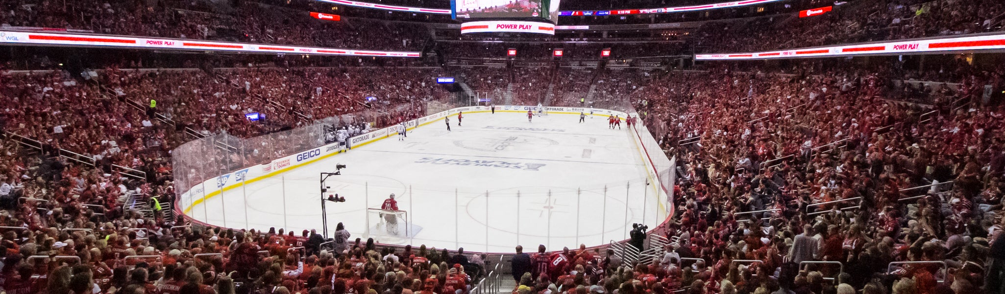 Seat view from LL Preferred 107 at Capital One Arena