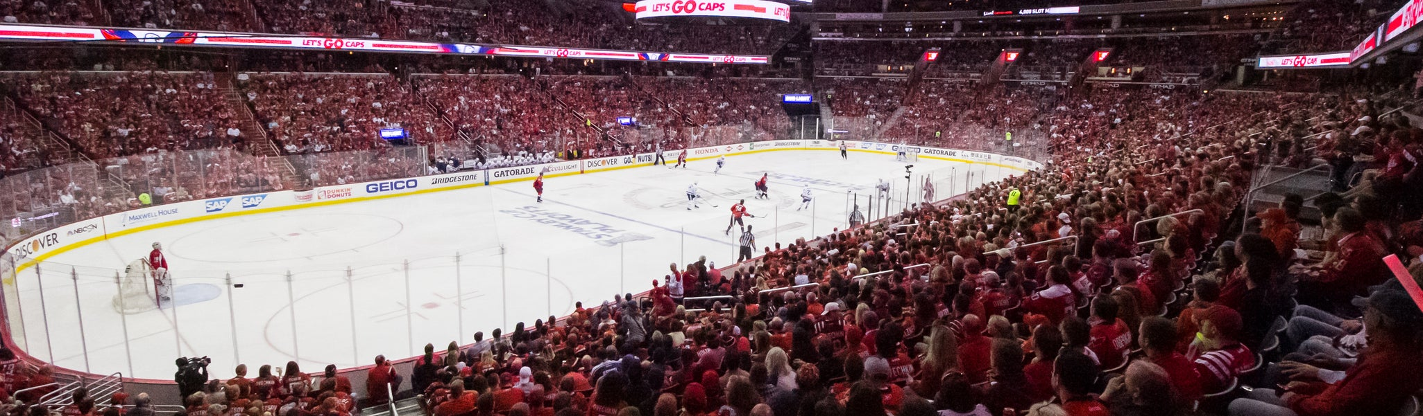Seat view from LL Preferred 108 at Capital One Arena