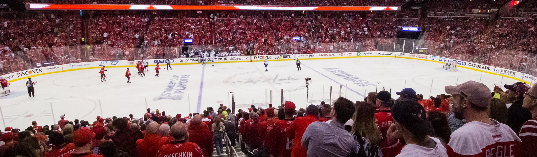 Seat view from LL Center Preferred 110 at Capital One Arena