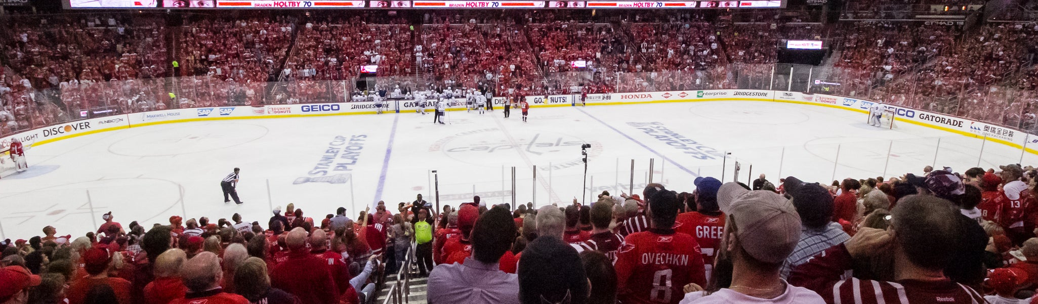 Seat view from LL Center Preferred 111 at Capital One Arena