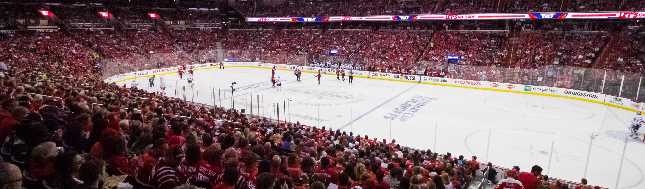 Seat view from LL Center Preferred 113 at Capital One Arena