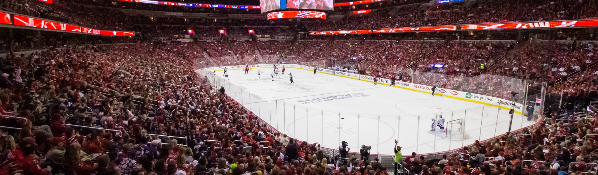 Seat view from LL Preferred 114 at Capital One Arena