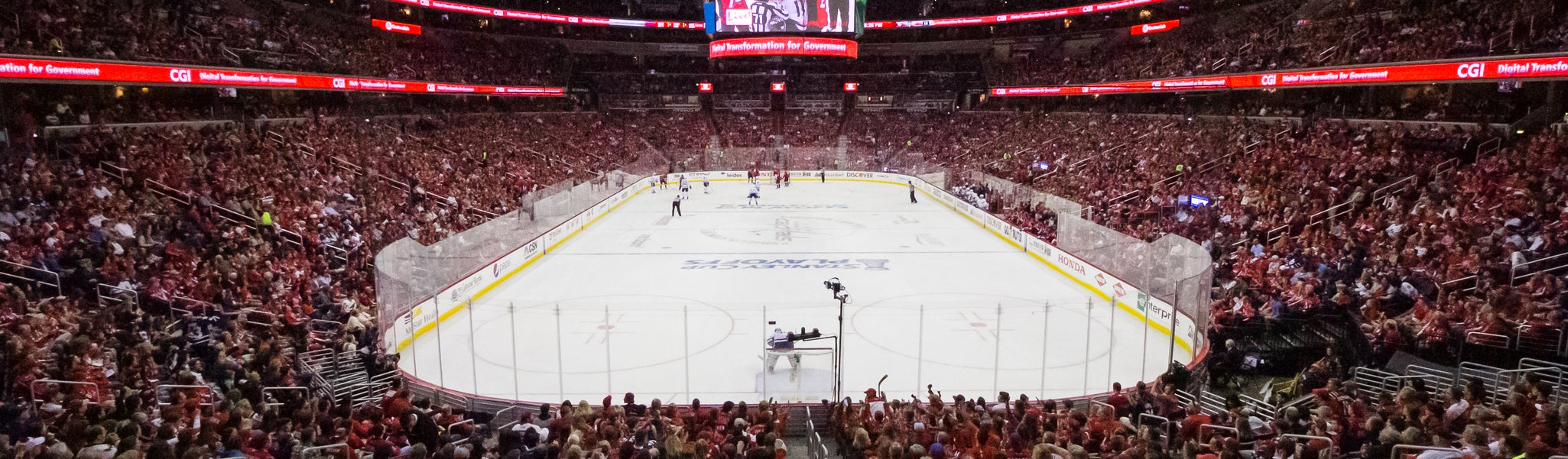 Seat view from LL Preferred 116 at Capital One Arena
