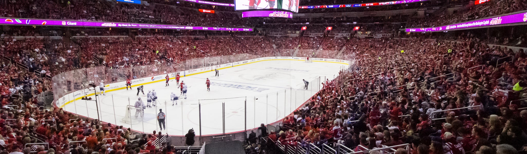 Seat view from LL Preferred 118 at Capital One Arena