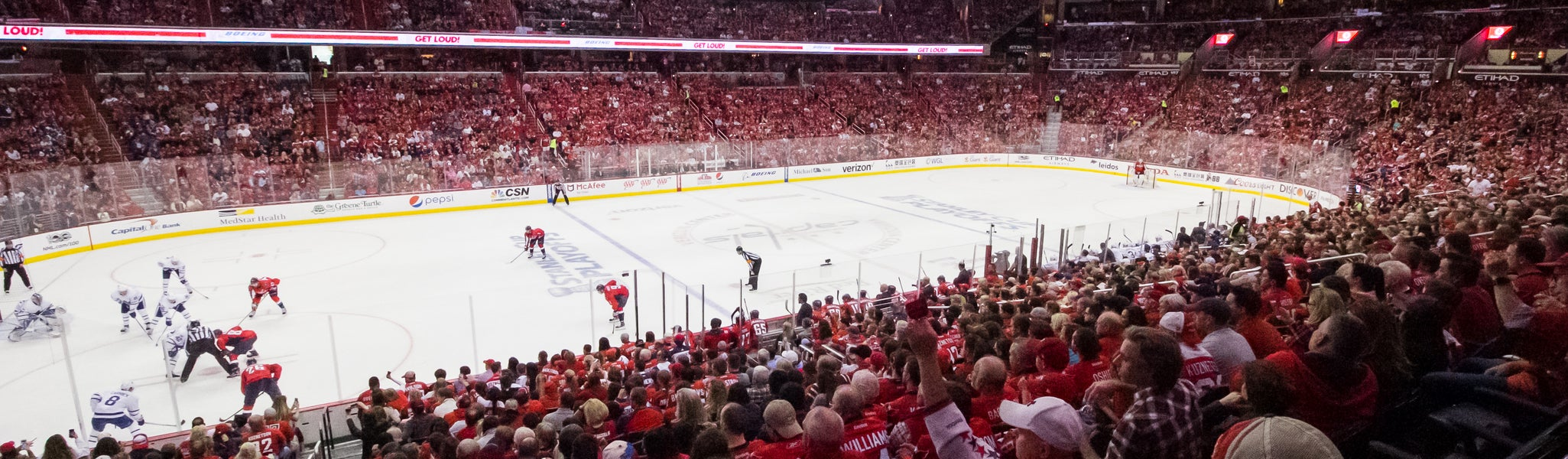 Seat view from LL Center Preferred 121 at Capital One Arena