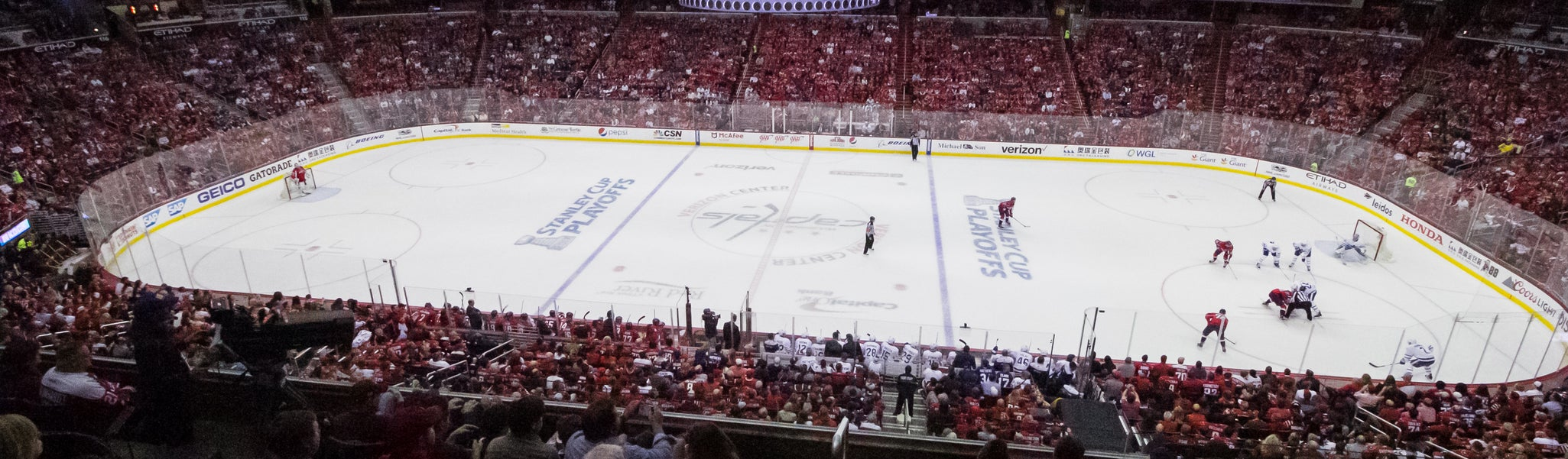 Seat view from Acela Level Center 201 at Capital One Arena
