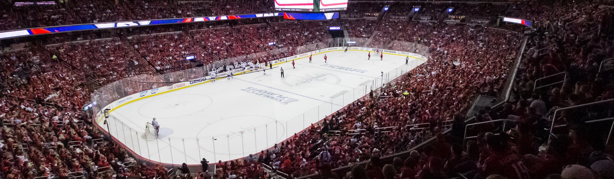 Seat view from Acela Level Corner 211 at Capital One Arena