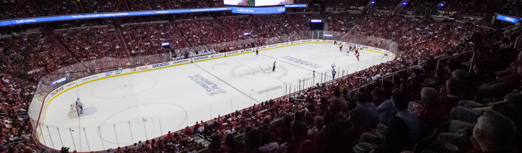 Seat view from Acela Level Corner 212 at Capital One Arena