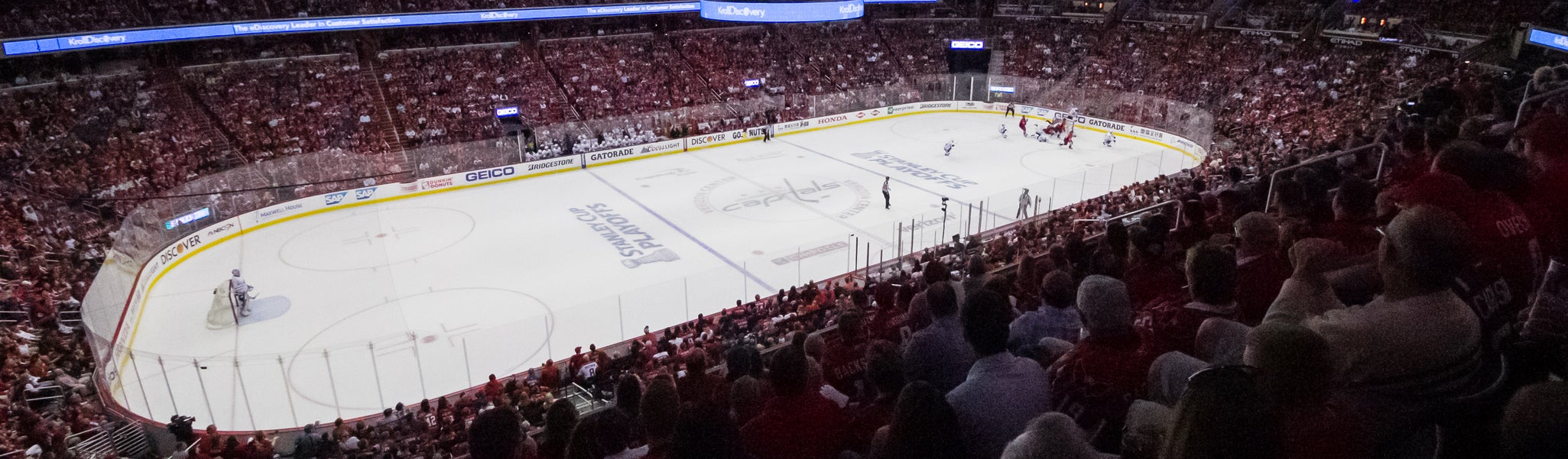 Seat view from Acela Level Corner 213 at Capital One Arena