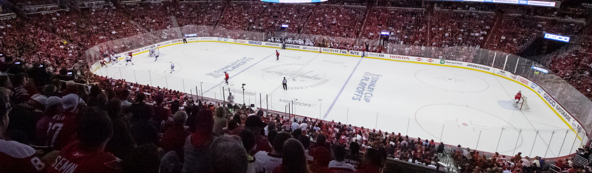 Seat view from Acela Level Center 216 at Capital One Arena