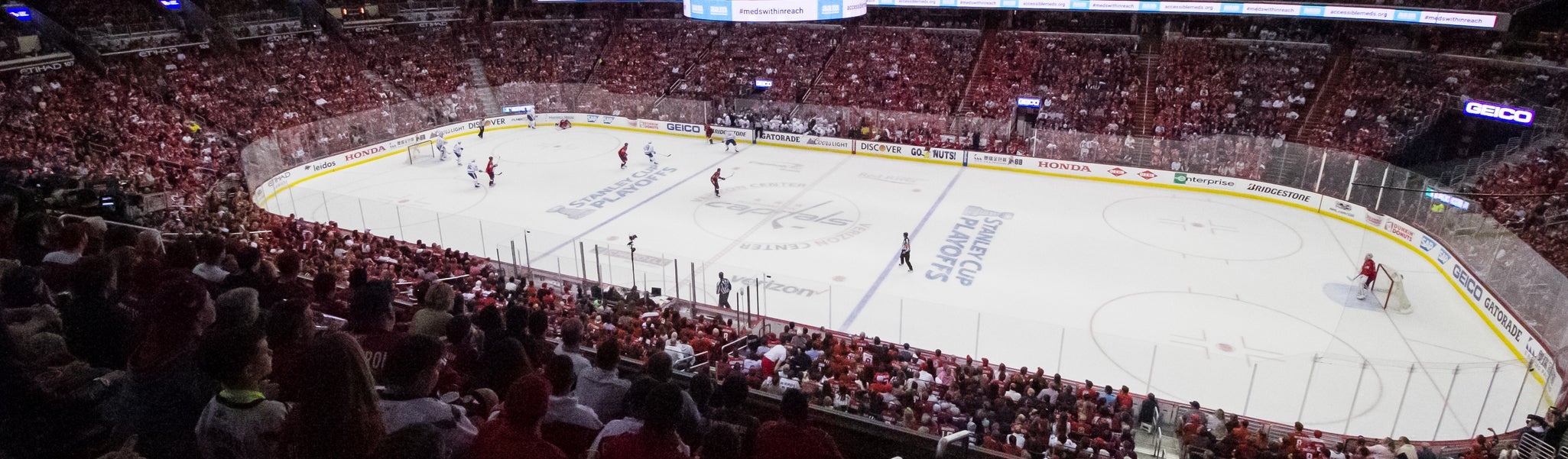 Seat view from Acela Level Corner 217 at Capital One Arena