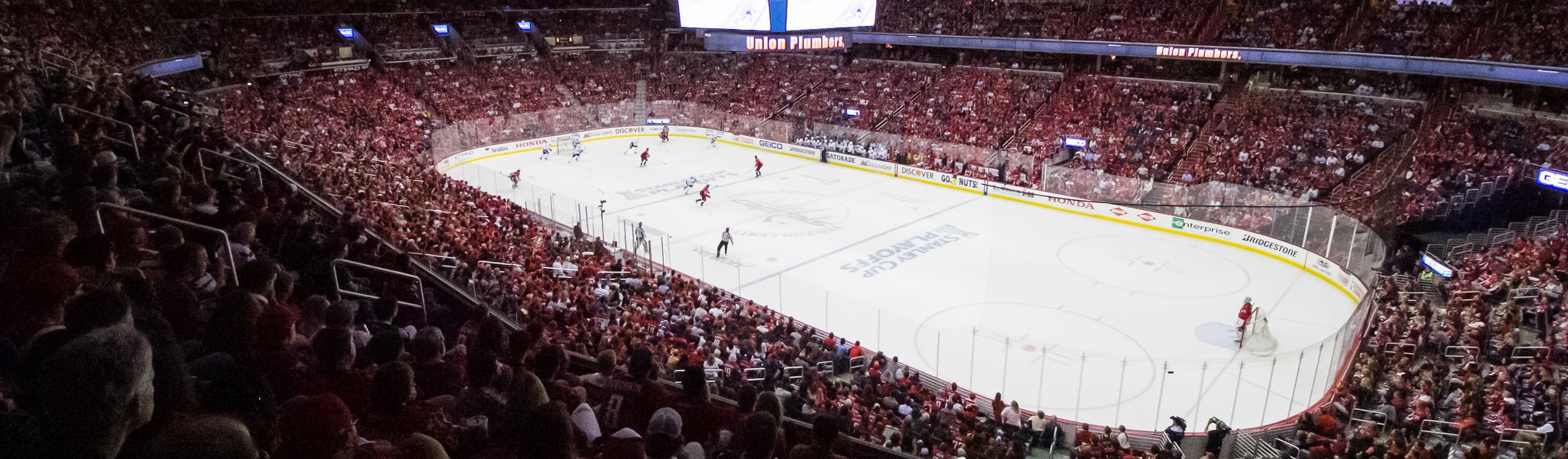 Seat view from Acela Level Corner 219 at Capital One Arena