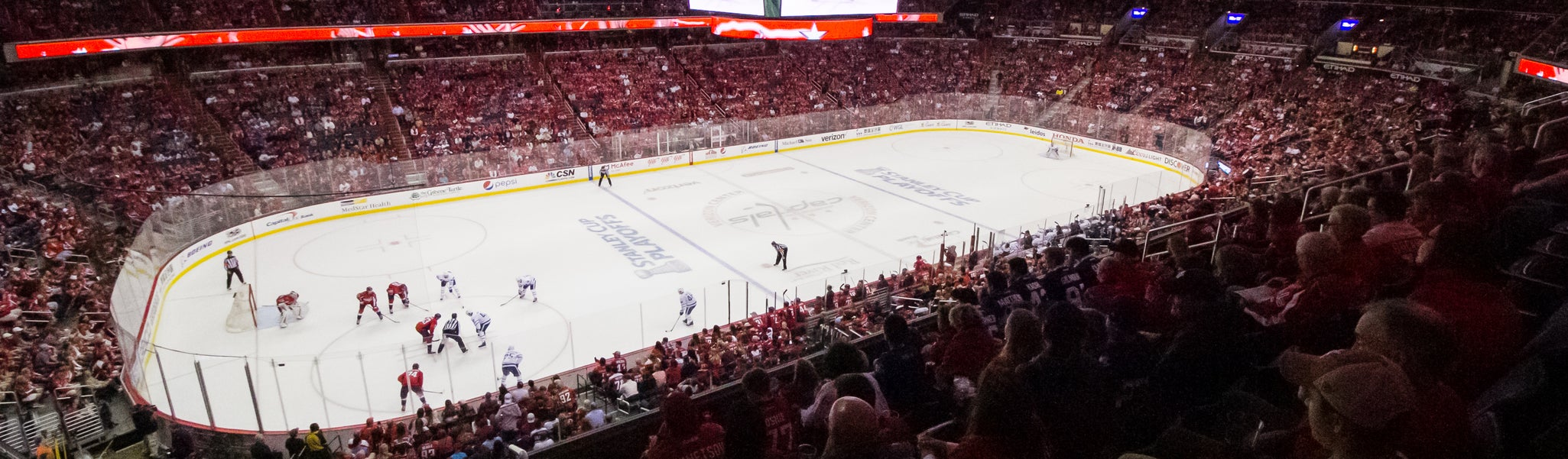 Seat view from Acela Level Corner 227 at Capital One Arena