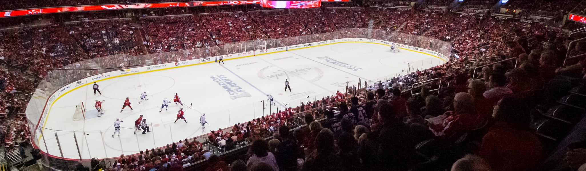 Seat view from Acela Level Corner 228 at Capital One Arena