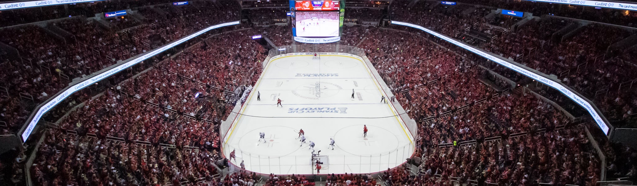 Seat view from Mezzanine End 408 at Capital One Arena