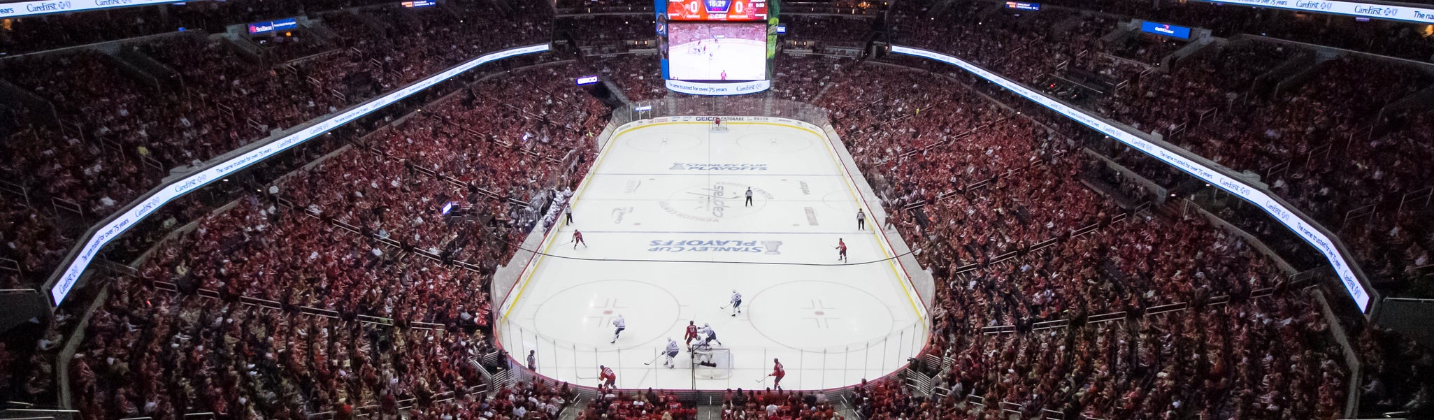 Seat view from Mezzanine End 409 at Capital One Arena