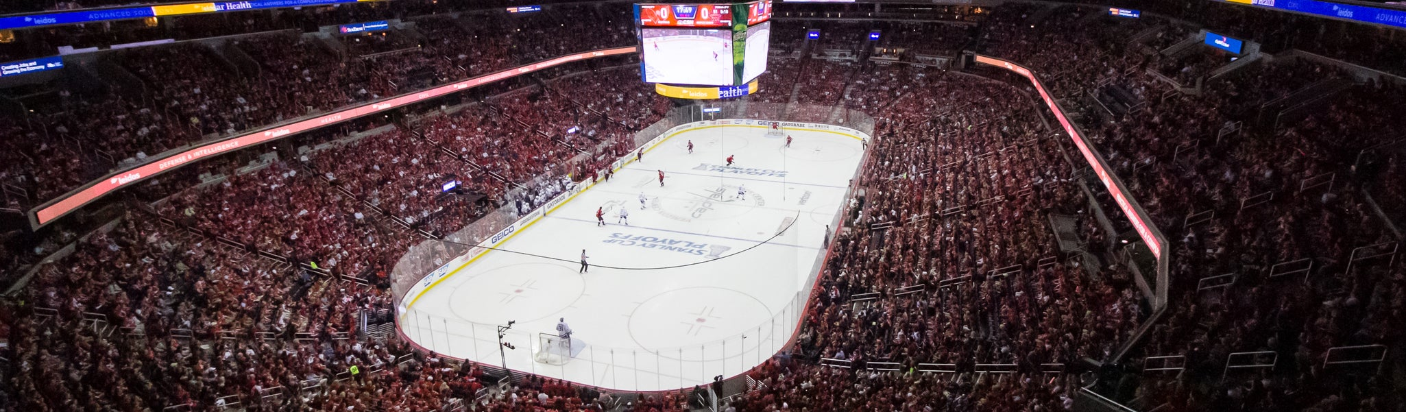 Seat view from Mezzanine End 410 at Capital One Arena