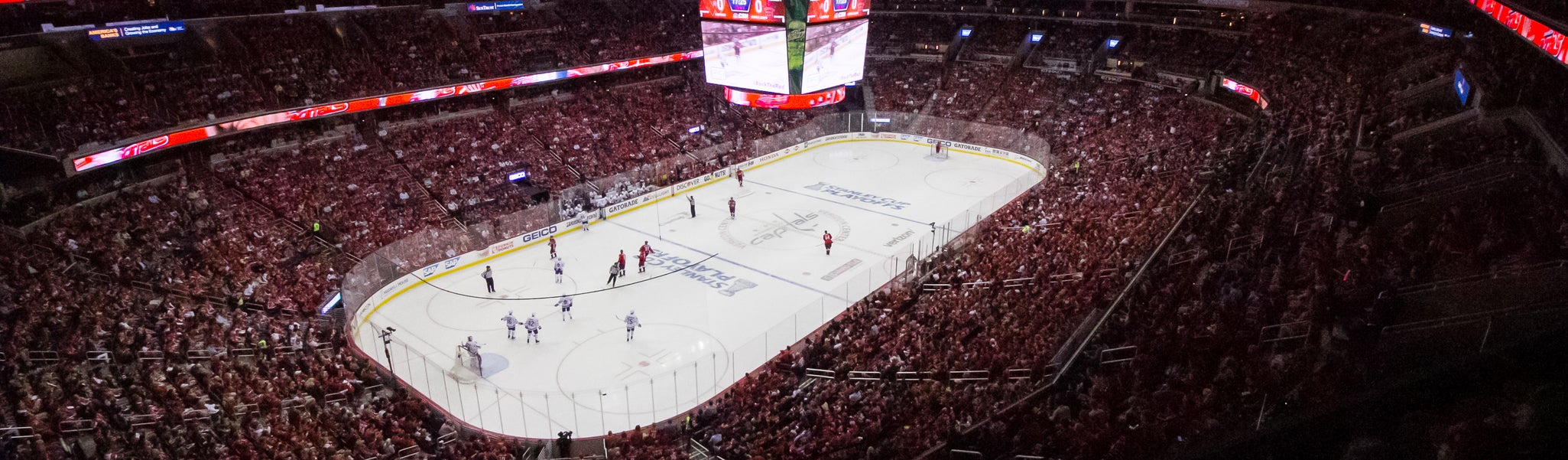 Seat view from Mezzanine End 412 at Capital One Arena