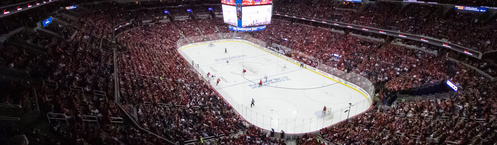 Seat view from Mezzanine End 423 at Capital One Arena
