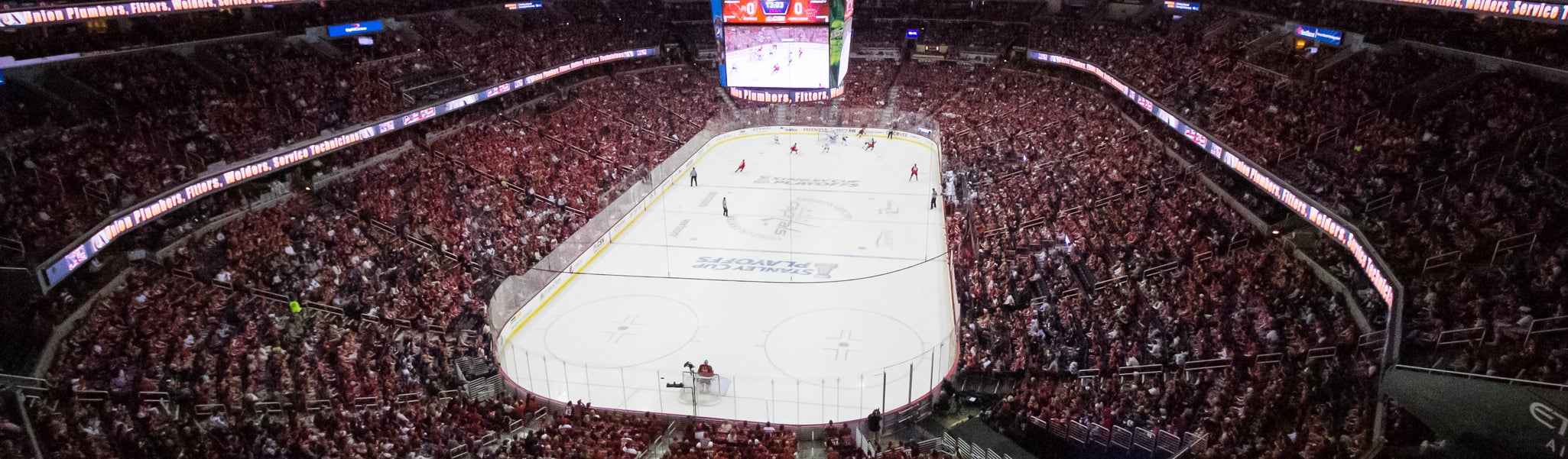 Seat view from Mezzanine End 426 at Capital One Arena