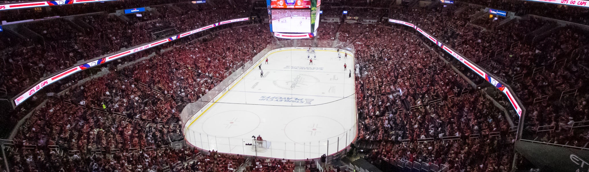 Seat view from Mezzanine End 427 at Capital One Arena
