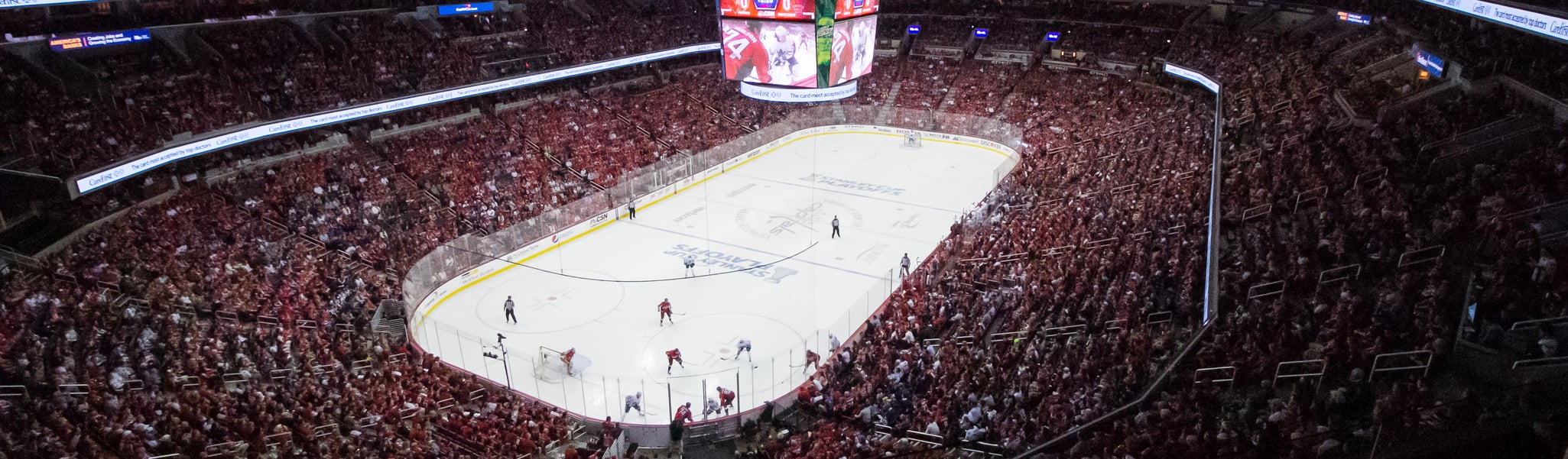 Seat view from Mezzanine End 428 at Capital One Arena