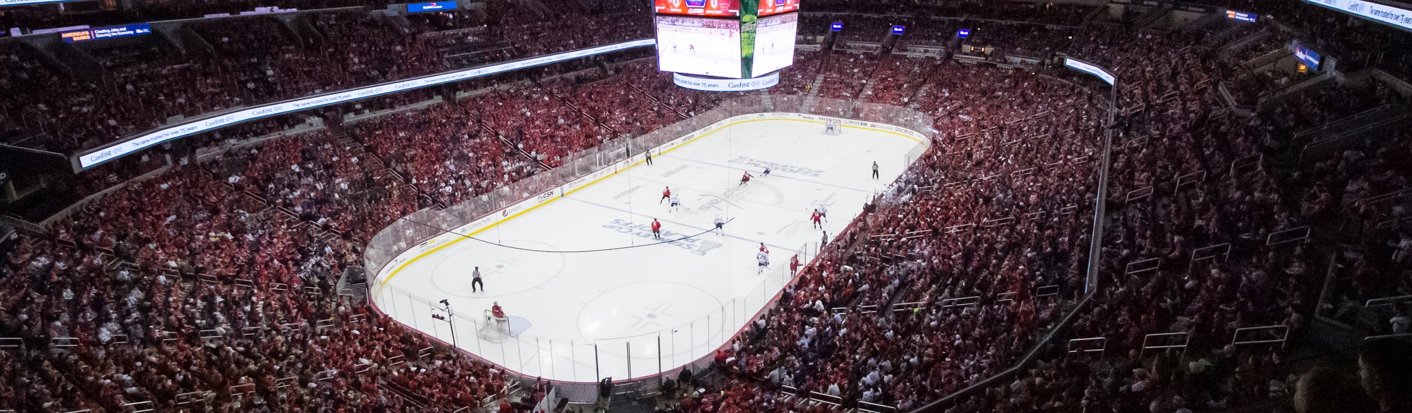 Seat view from Mezzanine End 429 at Capital One Arena