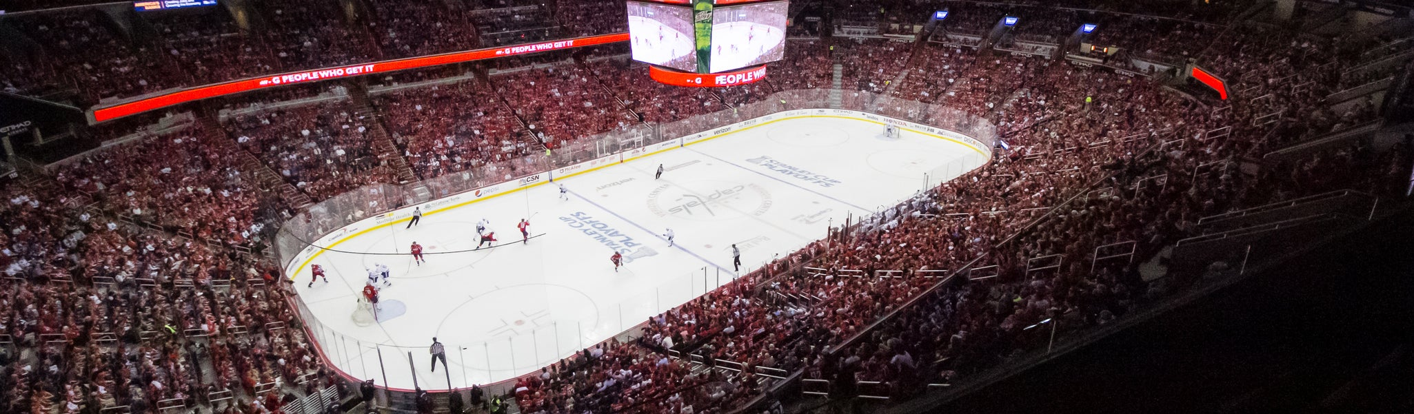 Seat view from Mezzanine Corner 430 at Capital One Arena