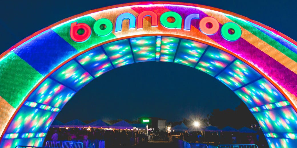 Bonnaroo's Iconic Arch Intentionally Burned Down Ahead  2019 Event