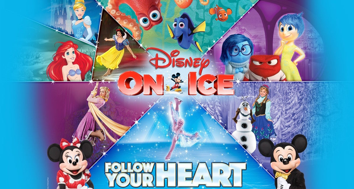 Disney On Ice: Follow Your Heart Tickets