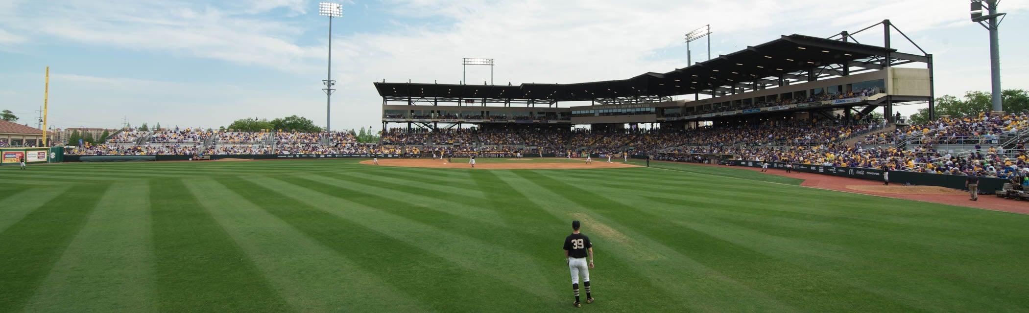 Seat view from Home Run Bleachers