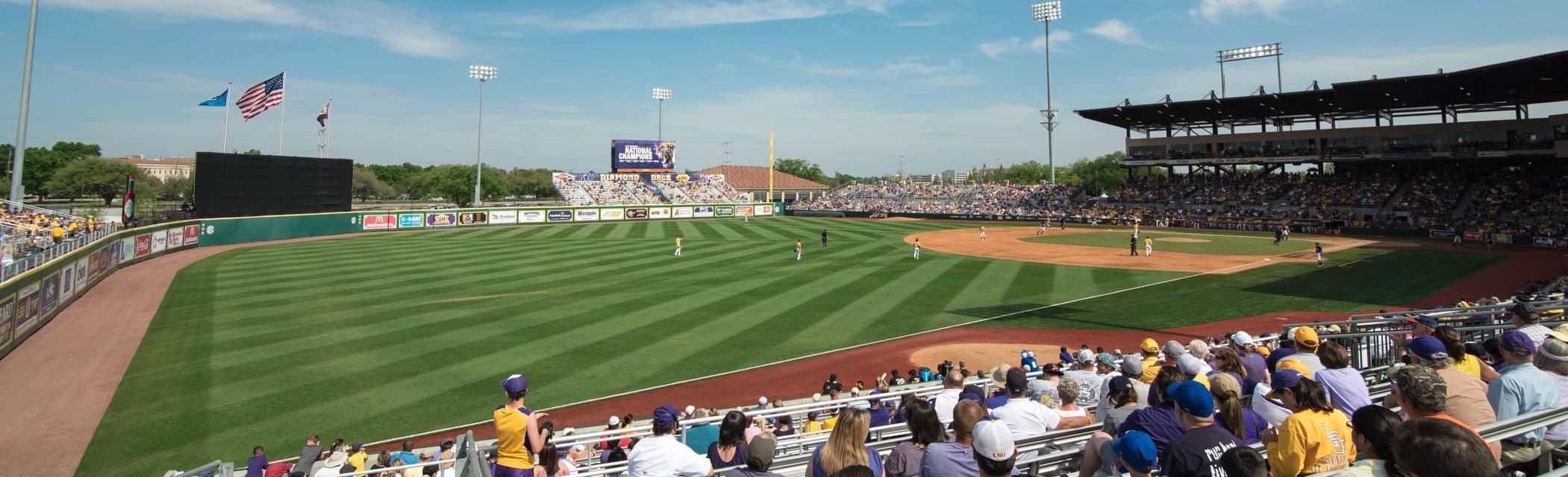 Seat view from Outfield Bleacher Regular