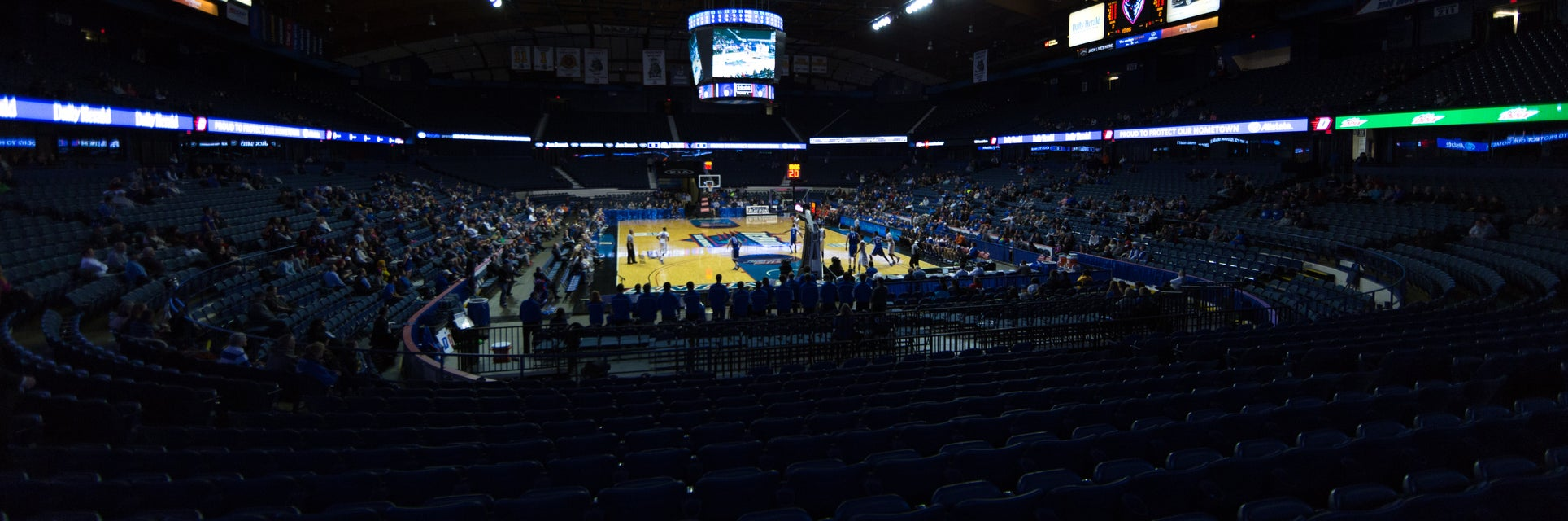 Seat view from Student