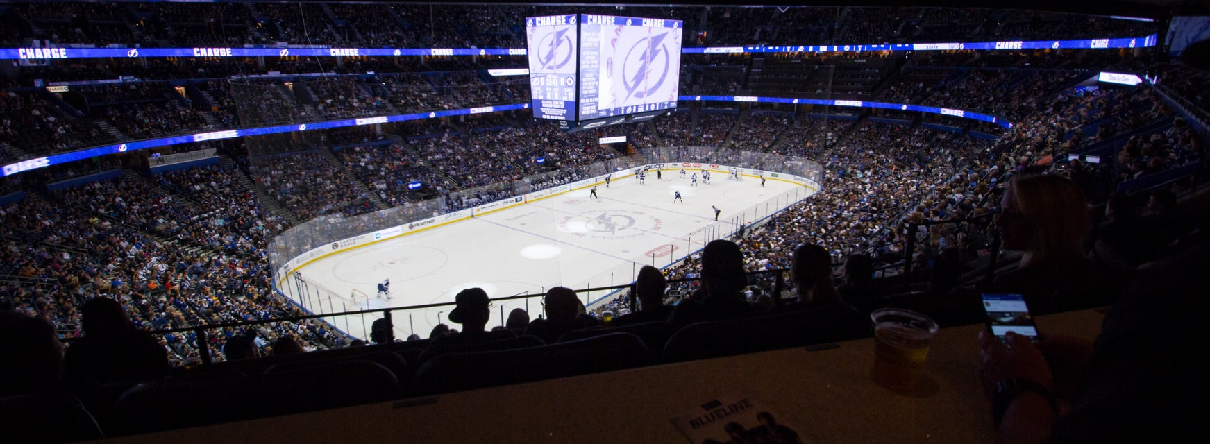 Seat view from Chase