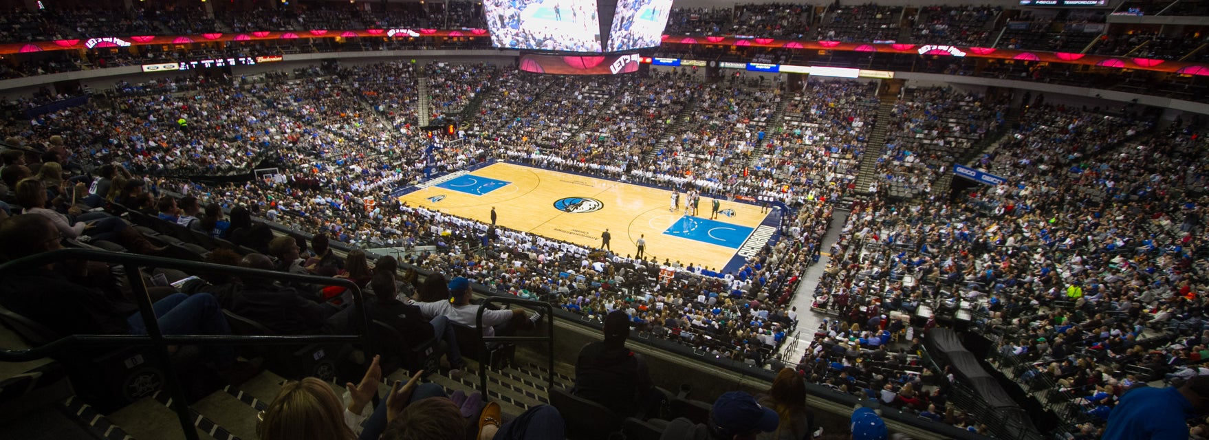 Seat view from Platinum Level Center