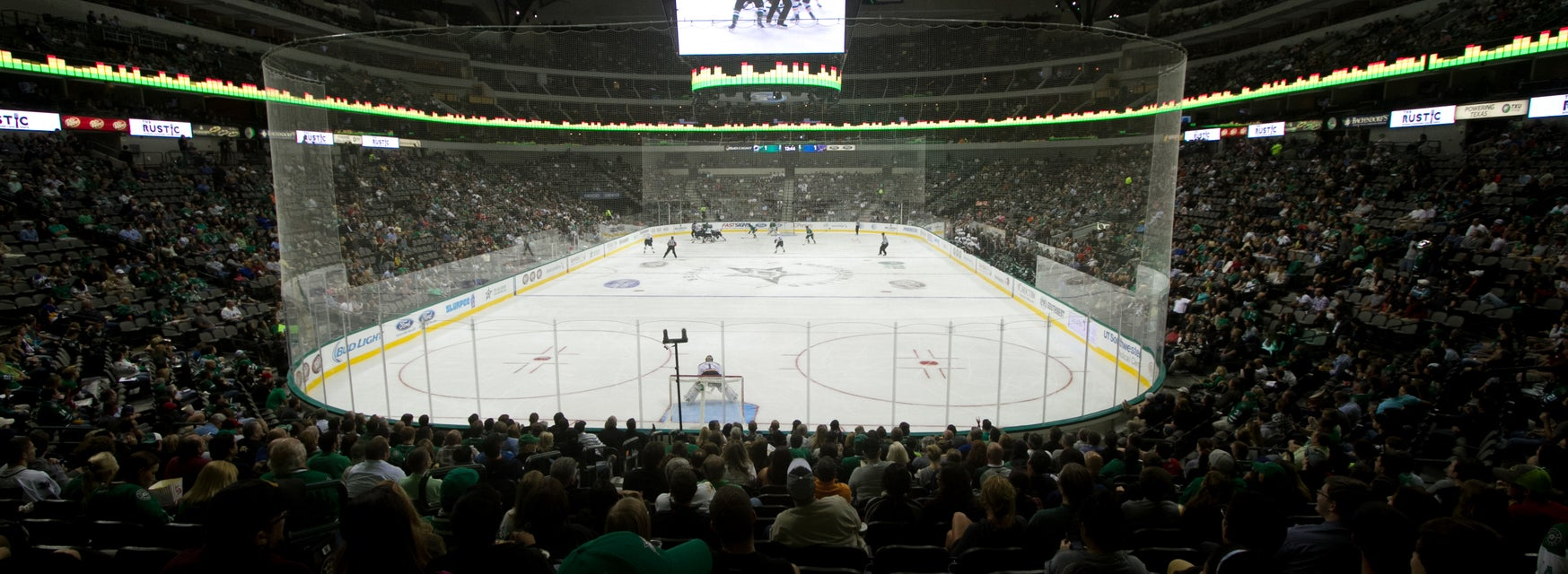 Seat view from Gold