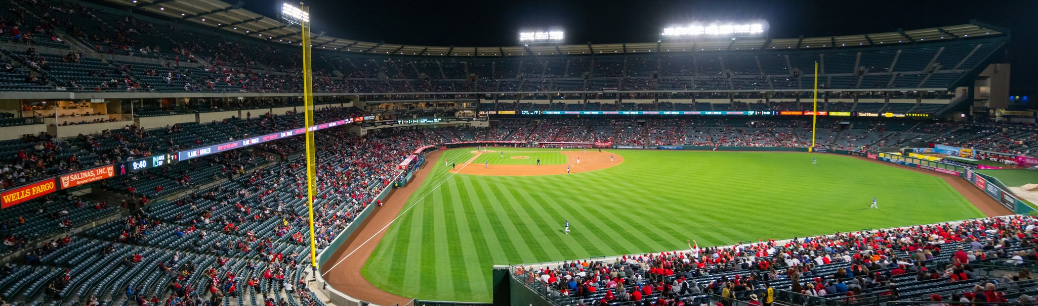 Seat view from Right Field Pavilion