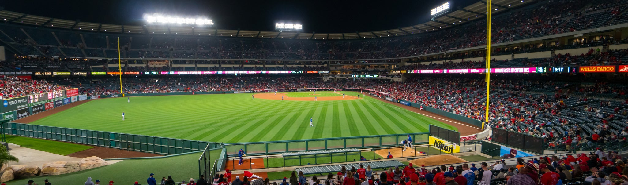 Seat view from Left Field Pavilion