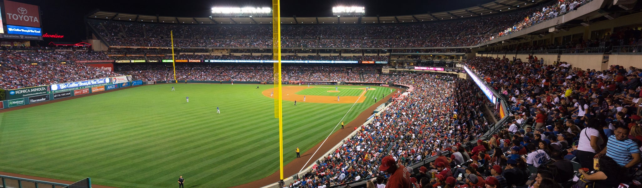 Seat view from Club Loge