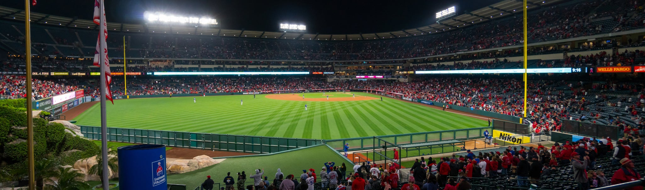 Seat view from Lower Pavilion