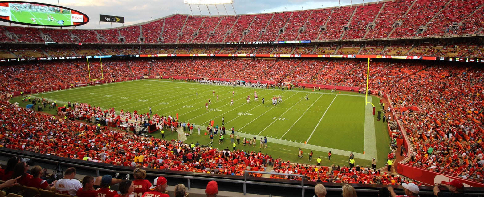 Seat view from Club