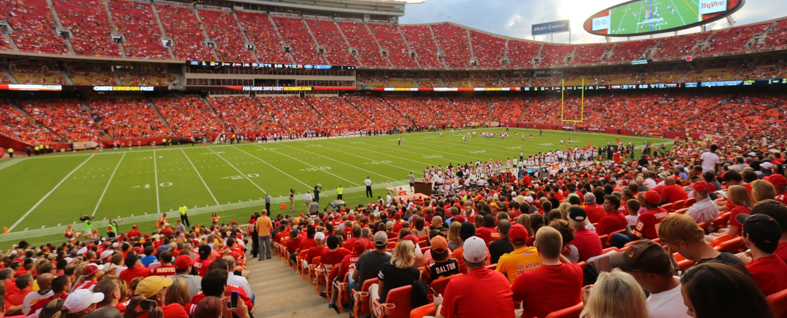 Seat view from Field Sideline