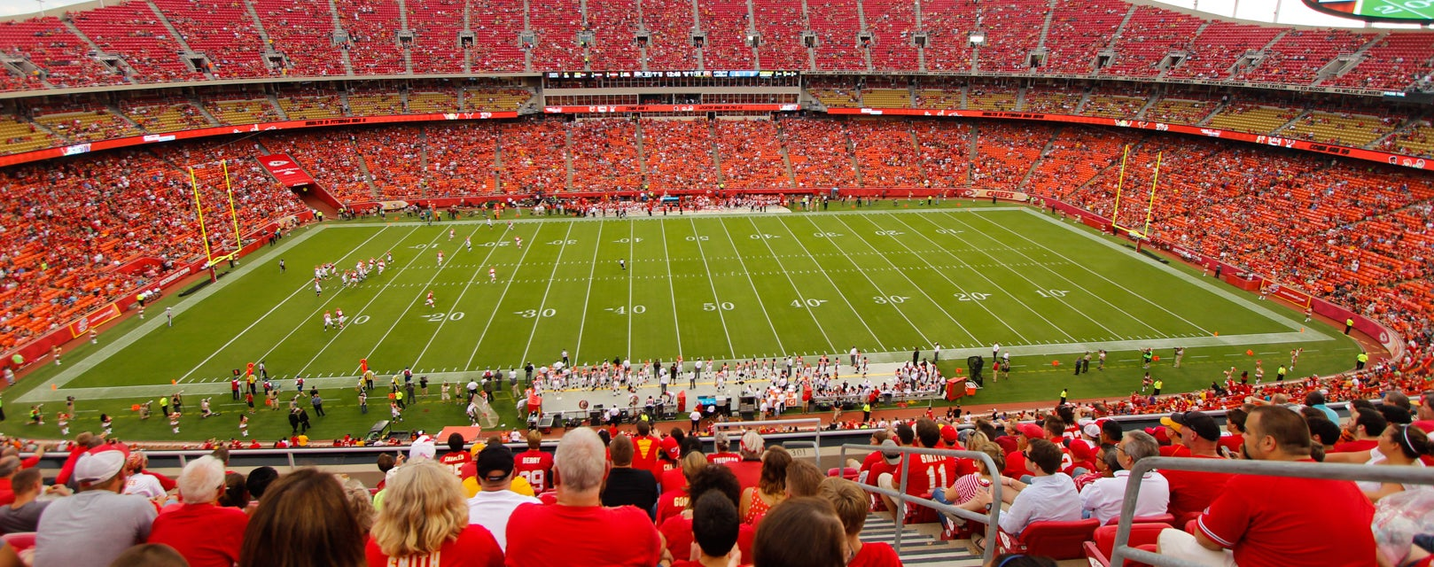 Seat view from Upper Red Sideline