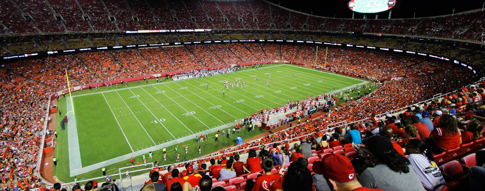 Seat view from Upper Red View