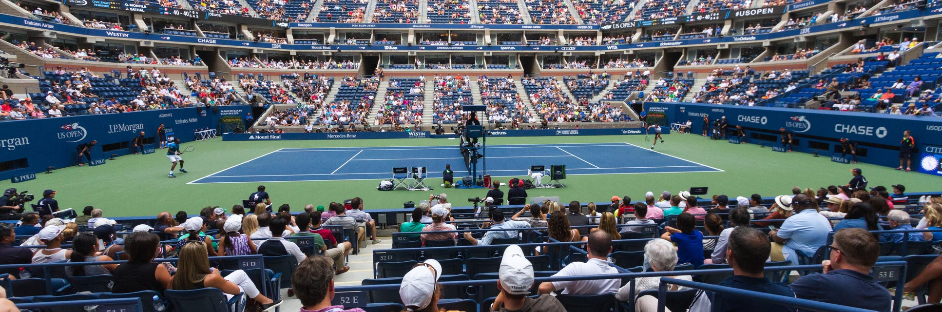 Seat view from Courtside Sideline