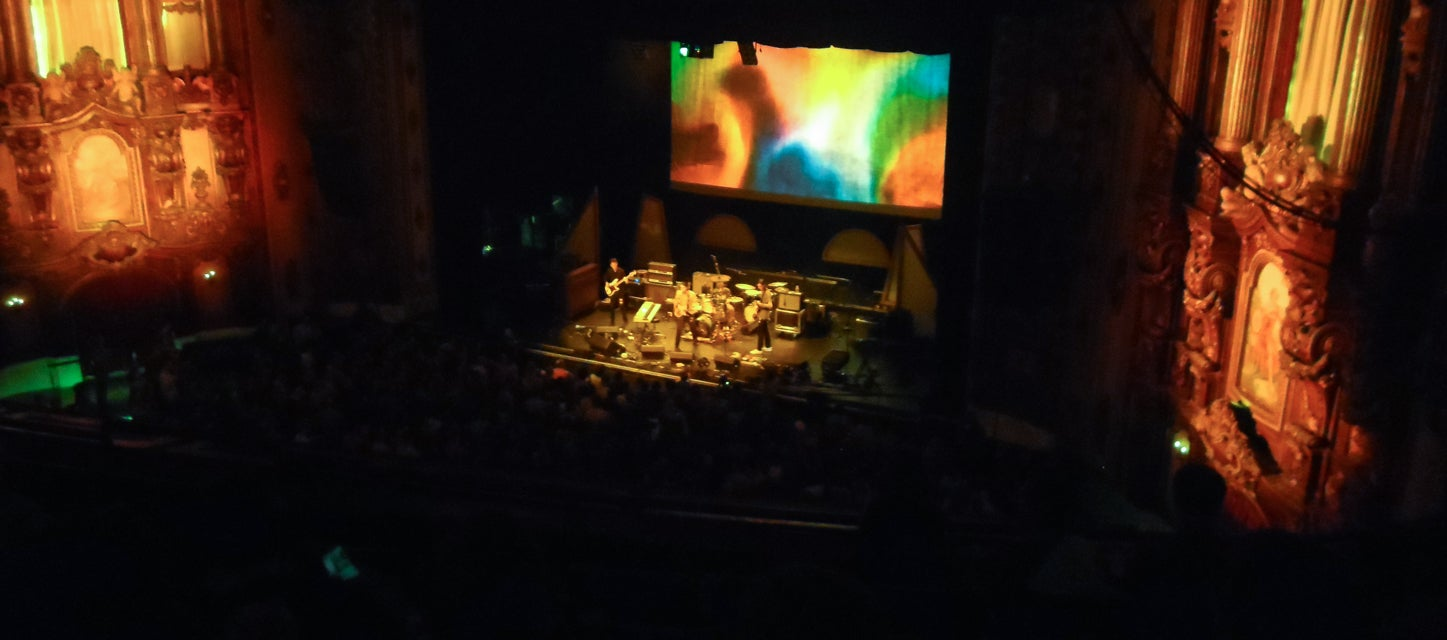 Seat view from Upper Balcony